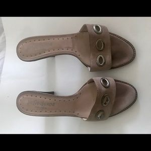 YSL sandals women's pre owned